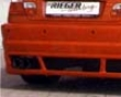 Rieger M3 Look Rear Bumper Without Parktronic Bmw E46 99-03