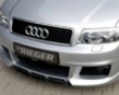Rieger New Design Front Bumper With Intakes & Washers Audi A4 B6 Type 8e 02-05