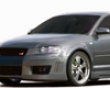 Rieger R-frame Front Bumper With Washers Audi A3 8p Sportbac k05-08