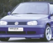 Rieger R-rs Front Lip Spoiler Volkswange Golf Iv Cabrio Euro 98-05
