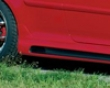 Rieger Rs4 Carbon Look Left Side Skirt With Wound Out Volkswagen Golf V 06+
