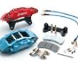 Rotora Front 6 Piston 13.7in Caliper Kit Bmw E90/92 335 Series 07
