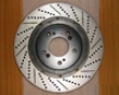 Rotora Front Real Drilled & Slotted Rotor Chevy Silverado 99-06