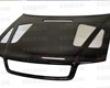 Seibon Carbon Fiber Er-style Hood Audi A4 96-01