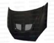 Seibon Carbon Fiber Evo-style Hood Ford Focus 00-04