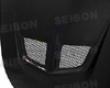 Seibon Carbon Fiber Evo-style Hood Honda Accord 2dr 03-07