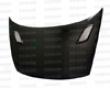 Seibon Carbon Fiber Mg-stylr Hood Honda Civic 2dr 06-07