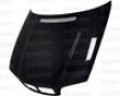 Seibon Carbon Fiber Oem-style Hood Bmw E46 2dr 99-02
