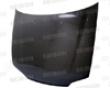 Seibon Carbon Fiber Oem-style Hood Honda Civic 4dr 92-95