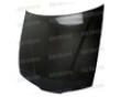 Seibon Carbon Fiber Oem-style Hood Honda Prelude 92-96