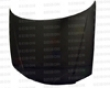Seibon Carbon Fiber Oem-style Hood Mazda Protege 01-03