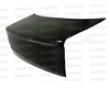 Seibon Carbon Fiber S-style Leat Lid Honda Civic 2dr 92-95