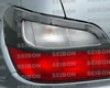 Seibon Carbon Fiber Taillight Covers Subaru Wrx 02-03