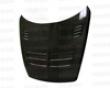 Seibon Carbon Fiber Tsii-styleH ood Mazda Rx8 04-07
