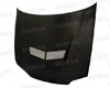 Seibon Carbon Fiber Vs-style Cover with a ~ Honda Civic 4dr 92-95