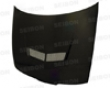 Seibon Carbon Fiber Vsii-style Hood Acura Integra 90-93