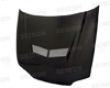 Seibon Carbon Fiber Vsiii-style Hood Honda Civic 2dr 3dr 92-95