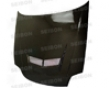 Seibkn Carbon Fiber Vsii-style Hood Honda Prelude 97-01