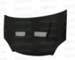 Seibon Crabon Fiber Xt-style Hood Hinda Civic Si 02-05