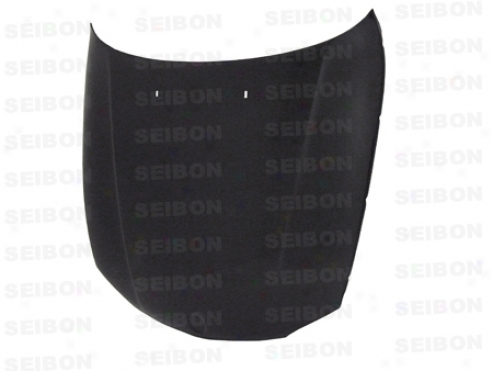 Seibon Oem-style Carbon Fiber Hood For Bmw 1-series E82 2dr 08+