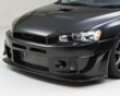 Sequential Japan Black Illusion Front Bumper Mltsubishi Evo X 08 +
