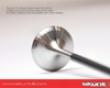 Skunk2 Intake Valve +0.5mm Oversize High Compression Acura Rsx K20a3 02-06