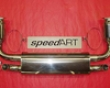 Speedart Sport Exhaust W/ Cat Porsche 996 Turbo/gt2 01-05