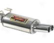 Supersprint Muffler Exhaust Dual Round Tips Bmw E39 540 96-05