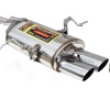 Supersprint Oval Tip Muffler Bmw E46 Sedan 325i 01-05