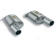 Supersprint Rear Exhaust Mufflers Dual Tip Bmw E92 335i Coupe 07+
