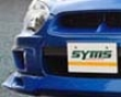 Syms Ftont Spoiler Lip Subaru Wrx/sti 04+