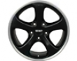 Techar5 Formula Gt Wheel Black 18x10.5 Et42 Porsche 95+