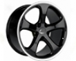 Techart Formula Gts Wheel Black 19x10.0 Et40 Porsche 97+