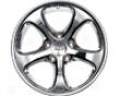 Techart Formula Wheel Chrome 18x10.5 Et42 Porsche 993 996 95-05