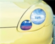 Techart Headlight Covers W/ Washers Porsche 996 99-01