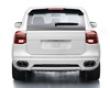 Techart Rear Skirt W/o Hitch Porsche Cayenne 08+