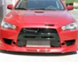 Test & Service Front Bumper With Canards Mitsubishi Evo X 08+