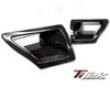 Titek Gloss Carbon Fiber Dual Air Duct Nissan 350z 07-08