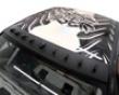 Titek Gloss Catbon Fiber Vortex Generator Mitsubishi Evo Vii Viii Ix 01-07