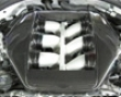 Titek Matte Carbon Fiber Engine Cover Nissan R35 Gtr 09+