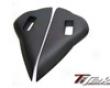 Titek Matte Carbon Fiber Side Dash Vent Covers Nissan R35 Gtr 09+
