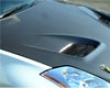 Top Secret Carbon Fiber Hood Nissan 350z