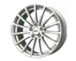 Tsw Mallory 15x6.5  4x100  40mm Silver Machined