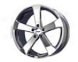 Tsw Vortex 17x8  5x100  35mm   Chrome