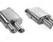 Tubi Style Dual Muffler Exhaust Quad Tip Ferrari 456 92-03