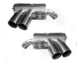 Tubi Stgle Dual Mufflers Quwd Tip Maserati 4.2 Spyder & Coupe 02-07