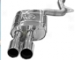 Tubi Style Rear Muffler Exhaust Audi Rs4 06+
