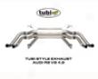 Tubi Style Stainless Steel Prostrate Audi V8 R8 05+