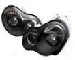 Umnitza Projector Headlight Black Or Chrome Mercedes-benz C-class 01-05