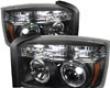 Umnitza Schemer Headlights Dual Led Halos Dodge Dakota 05-07